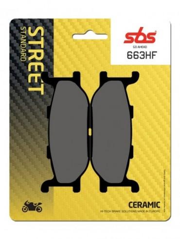 Pastilla de Freno SBS para Yamaha XJ Diversion 400   Delantera   ceramico-plus