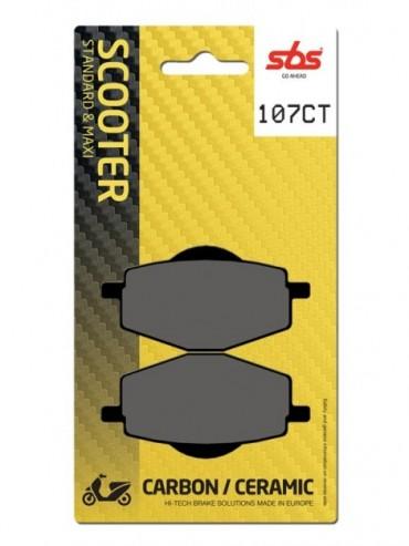 Pastilla de Freno SBS carbono para  Garelli TM150T-28X XO' 150   Trasera