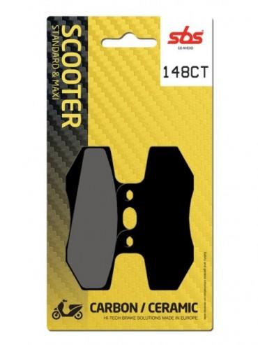 Pastilla de Freno SBS carbono para  Betamotor RR Enduro AM6 FE E2 50   Delantera