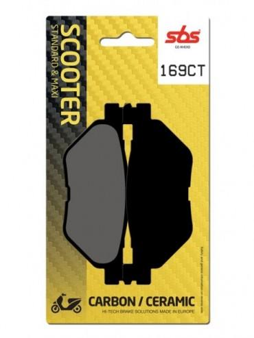 Pastilla de Freno SBS para  Yamaha TMAX 562   Traseras