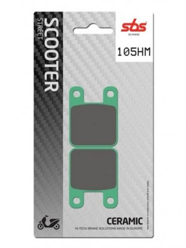 Pastilla de freno SBS para Aprilia RS 50 (2006-2013)   Cerámica