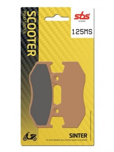 Pastilla de freno SBS para Honda CH Spacy 125 (1994-0) Delantera  Sinterizadas