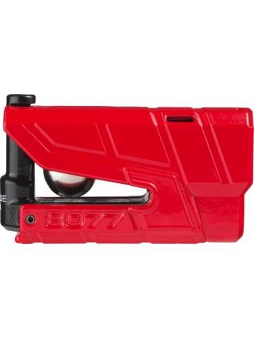 Antirrobos de freno de disco alarma  3D rojo