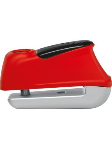 Antirrobos de freno de disco alarma pasador 10 mm rojo
