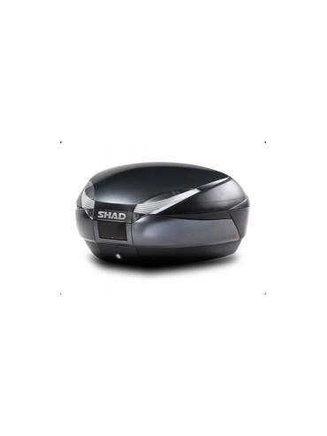 Tapa Baúl Shad SH-48 Gris Oscuro/Negro
