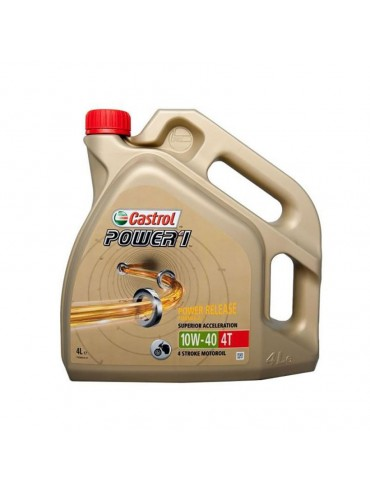 Aceite Castrol Power 4t 10w-40 4L