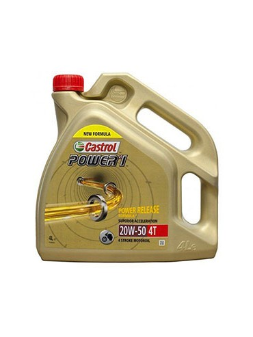 Aceite Castrol Power 4t 20w-50 4L