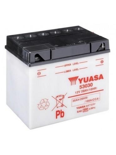 Bateria Yuasa 53030 Combipack para BMW R 80 ET 800