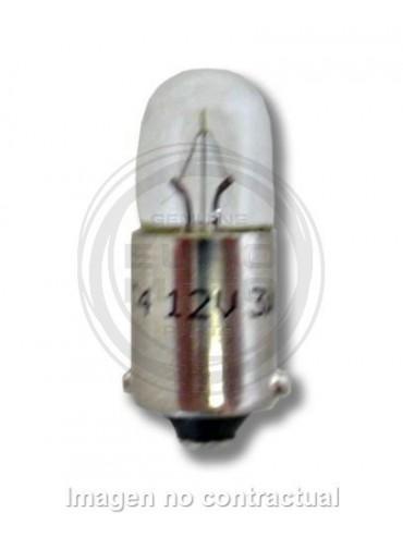 Lámpara Hert de posición/tablero Tubular de control 12V 4W